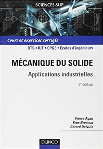 Mécanique du solide - Applications industrielles