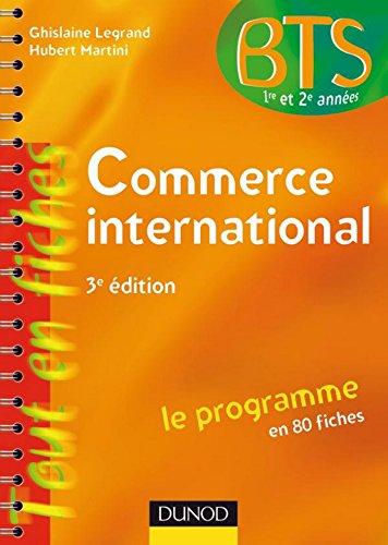 Commerce international : Le programme en 80 fiches