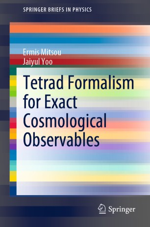 Tetrad Formalism for Exact Cosmological Observables