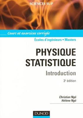 Physique statistique Introduction:Cours et exercices corrigés