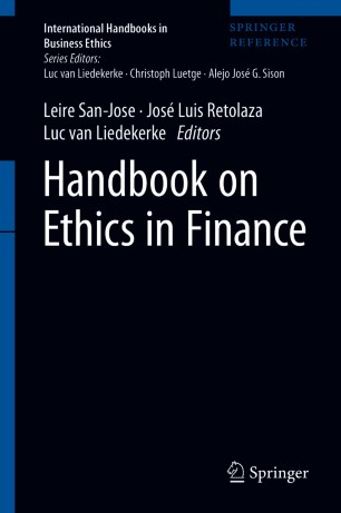 Handbook on Ethics in Finance